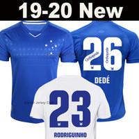 ingrosso nuove case di qualità-Novità Maglia Cruzeiro 2019 2020 Home kit RODRIGUINHO DEDÉ THIAGO NEVES SASSÁ FRED EGÍDIO LÉO Maglia da calcio away 19 20 thailandia qualità