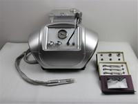 ingrosso microdermoabrasione macchine cristalli-T12 Crystal Microdermabrasion Machines con 9 punte Diamond Tips per Derma Peeling Skin Detergente per Salon SPA Use Portable