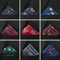 lenços de qualidade venda por atacado-2019 designer de alta qualidade comércio exterior quente nova moda masculina Joker terno lenço pequeno quadrado toalha de bolso pode ser personalizado