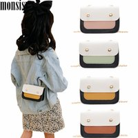 Wholesale mini handbag for baby girl resale online - Monsisy Coin Bag For Girl Purse and Handbag Children Wallet Kid Shoulder Bag Cute Women Small Mini Crossbody Baby Bolsa