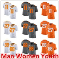 Wholesale joshua dobbs jersey for sale - Group buy customize NCAA Tennessee Volunteers football jerseys Joshua Dobbs Justin Coleman Luke Stocker jersey any name number size S XL