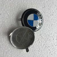 volante al por mayor-Para BMW SRS Airbag cubierta insignia insignia alta calidad volante cubierta emblema 1 unids envío gratis