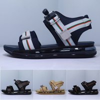 Wholesale ankle water sandals for sale - Group buy Mens Sport Sandals Shoes Designers c Sole Anti slipping Quick drying Classic Outdoor Slippers Soft Water Trainer Shoes