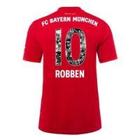 camisas personalizadas de calidad al por mayor-19-20 camisetas personalizadas del Bayern Munich 7 Ribéry 10 ROBBEN Thai Quality Soccer Jerseys, camisetas baratas conmemorativas con descuento, camisetas personalizadas para hombre