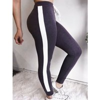 Wholesale full size womens clothing for sale - Group buy Womens Jogger Pants Women Sport Pants Solid Color Ladies Yoga Joggers Capris Womens Clothing High Quality Size S XL
