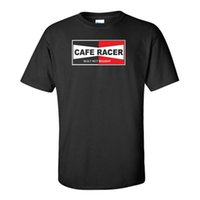 kaufen klassischen hemden großhandel-2019 lustige Cafe Racer Motorrad Biker gebaut nicht gekauft klassische Retro Vintage Black T-Shirt T-Shirts