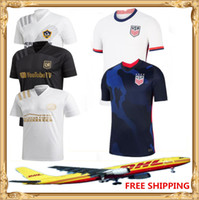 Wholesale la galaxy away jersey resale online - DHL America Soccer Jersey Atlanta United LA Galaxy LAFC USA Home away United States Football men Size can be mixed batch