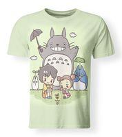 Wholesale neighbor totoro cosplay resale online - New Japan Anime Studio Ghibli My Neighbor Totoro Cosplay Gift D T Shirt S XL Men Women Unisex Fashion tshirt
