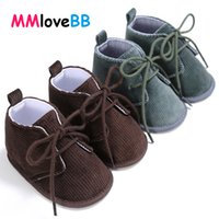 Wholesale suede leather baby moccasins resale online - MMloveBB Baby Shoes Soft Sole Boy Infant Leather Baby Boy Girl Moccasin Shoes for Newborn Toddler Crib for