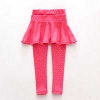 брюки для девочек оптовых-Малыш девушка шерстяные брюки-кюлоты рендеринг брюки дети ребенок черный розовый брюки леггинсы брюки юбка детская одежда