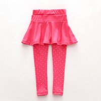 pantalón pantalón negro para niñas al por mayor-Niña pequeña de lana, culotte, pantalones, pantalones, niños, niños, negro, rosa, pantalones legging, pantalones, falda, ropa de bebé