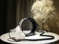ingrosso borsa mini bianca-2019 di marca delle borse di lusso della donna stilista stilista di lusso borse di moda borsa a tracolla rotonda trasparente di colore nero-bianco # 214