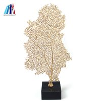 Wholesale resin decoration sculptures for sale - Group buy Mascarello Resin Coral Sculpture on Clear Crystal Base Coral Ornament Branch Coral Decorative Accent for Home Office Tabletop Décor CM Go