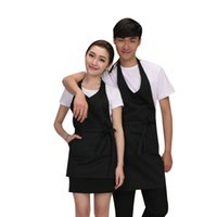 Wholesale art cooking online - Kitchen Aprons Adorable Kitchen Waists Colors Sleeveless Cafe Aprons Craft Cooking Baking Art Painting Apron GGA2073
