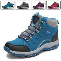 Uomini e Donne Trekking Scarpe New Fashion Sneakers traspirante antiscivolo Sports Rock Climbing Shoes alpinismo Stivali