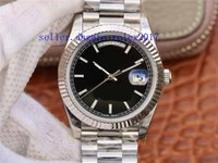Wholesale watch bracelet president resale online - Men s Luxury Products Quality Classic Big Day Date Auto mm Cal Mens President Bracelet Automatic Movement watches hout