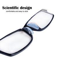 glasses nose pads achat en gros de-1000 paires / lot clair / noir doux Silicon Stick sur le nez plaquettes pour lunettes lunettes de soleil lunettes anti-slip lunettes accessoires