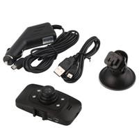 ingrosso macchina fotografica del trattore del veicolo pieno hd-Full HD 1080 P Car DVR Dash Cam Videocamera Videoregistratore GS8000L 2.7