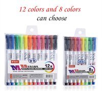 Wholesale water based markers resale online - Color Whiteboard markers water based erasable marker pen nontoxic writing and drawing learning pen Paint Marker Pen stationery school