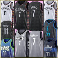 Wholesale kid jerseys for sale - Group buy 7 Kevin Durant Kyrie NCAA Irving Jersey kids Mens Luka Doncic Jersey New Embroidery Logos Basketball Jerseys S XXL
