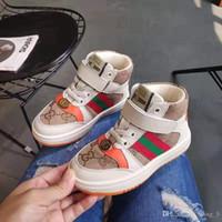 coreano crianças modelos venda por atacado-Moda 19 modelos explosão homens e mulheres sapatos infantis versão coreana do grande crianças suaves de fundo sapatos casuais respirável 21-37