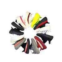 ingrosso ragazza di sneaker-Adidas Yeezy 350 V2 Designer Brand Scarpe da bambino Scarpe da corsa per bimbi Kanye West 350 Scarpe da corsa V2 Scarpe da ginnastica per bambina Beluga 2.0