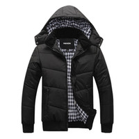 Wholesale hoodie hoodies skate for sale - Group buy new winter jacket Thick Keep Warm Thermal Relaxation Rib Long Sleeve Coat Parka Men Outdoors Hoodie Removable Jackets Parka