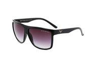 gafas de sol de importación al por mayor-2019 Materiales importados más nuevos Gafas de sol polarizadas de la marca europea Moda Hombres Mujeres Gafas de sol de diseñador Marco grande Gafas de sol al aire libre 0027