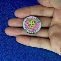 ingrosso pizza migliore-pizza Spilla Best Friends Spille Pins Fibbia Denim Jacket Collar Pin Badge Moda gioielli drop shipping