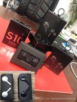 iphone белые гарнитуры оптовых-проводная гарнитура для Samsung S10 S10E S10P для iphone гарнитура наушники наушники черно-белые EO-IG955 с коробкой