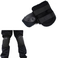 rodilleras de paintball al por mayor-Skate Protector Knee Pads Militares Codo Táctico Protector Paintball Combat Airsoft Paintball Gear Equipo de Caza # 270751