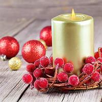 mini fruta artificial al por mayor-Mini Christmas Frosted Berry Artificial Foam Berries Árboles de Navidad Home Guirnalda Decoraciones Simulación Frosted Berry Fruit