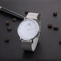 novos itens de venda venda por atacado-Nova moda 32mm mulheres Daniel Wellington relógios 40mm Homens Diamantes relógios de Quartzo DW de Luxo Itens Quentes Vendendo Relógio de Quartzo Montre Femme