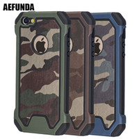 Wholesale s note case for sale – best Army Military Camouflage Armor Shockproof Phone Case For iPhone S S SE S Plus X XS Max XR Coque Dual Layer TPU Cover