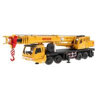 grilles à jouets achat en gros de-1/55 Tour Grue Excavatrice Construction Diecast Vehicle Modèle Modèle Jouets Éducatifs Cadeau D'anniversaire pour Enfants Enfants En Bas Âge