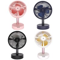 Wholesale cooling spray fans resale online - Mini Portable USB Air Cooling Fan Adjustable Quiet Misting Fan Spray Cooler for Home Office Outdoor Student Dormitory Use Suppli