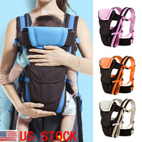Wholesale newborn front carrier for sale - Group buy US Newborn Baby Carrier Sling Backpack Front Back Chest Ergonomic Position Unisex Hot Backpacks
