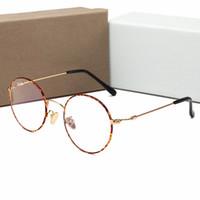 ingrosso occhiali coreani-Top qualità nuovo coreano popolare metallo piatto occhiali personalità tendenza selvaggio retrò specchio piatto guida occhiali da sole 4 colori