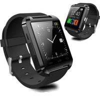 smartwatch para la venta al por mayor-Ventas calientes U8 Smart Watch Bluetooth Smartwatch U8 para IPhone78 Plus Samsung S6 Note9 PK GT08 DZ09 Y1