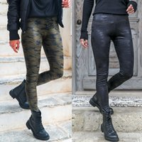 Wholesale Hot Sell Womens Ladies Elastic High Waist Camouflage Camo Skinny Stretch Pants Trousers Colour Size S XL