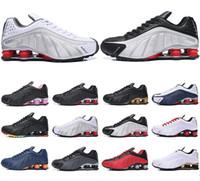 ingrosso scarpe da jogging a marchio di sconto-scarpe shox economici consegnare NZ R4 809 uomini scarpe da corsa marca sneakers da basket sport da jogging formatori migliore vendita sconto negozio online