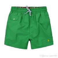 materiais de tabuleiro venda por atacado-2018 novos polos shorts de verão homens board sólidos shorts quick dry material 9 cores tamanho m-xxl frete grátis