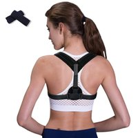 Wholesale Back Shoulder Posture Correction Adjustable for Adult Sports Safety Back Support Corset Spine Support Belt Posture Corrector set