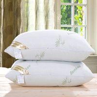 almohada de cuello suave al por mayor-Almohadas de tiro Almohadas de tiro / Súper suaves y cómodas / Almohada Cuello de la almohada de bambú para la salud / Cuidado de la salud cervical 1PCS