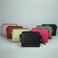 bayanlar moda küçük çantalar toptan satış-Moda Bayan Klasik küçük torbalar PU deri ünlü çanta Tasarımcı bayan mini çanta haberci omuz taşımak Çanta crossbody zincir çanta