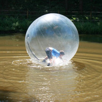 Wholesale inflatable water walking toy resale online - Transparent Inflatable Water Zorb Ball m Water Walking Ball For Pooll Games Popular Water Play Equipment Inflatable Roller Ball Cheap