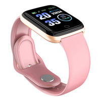 Wholesale pink waterproof camera for sale - Group buy Waterproof Fitness Tracker Smart Watch Silicone Band Watch Sport Pedometer Sleep Tracker Heart Rate Monitor Smartwatch For IOS Android