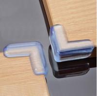 безопасный для детей оптовых-Новый уход за ребенком безопасности ребенка угол защитный мягкий ПВХ стол стол Стол гвардии край защитная крышка безопасная подушка