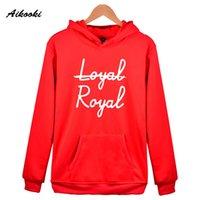 jersey kpop al por mayor-Nuevo BTS Loyal Royal Missing Hoodies Sudaderas para parejas Kpop Bangtan Hooded Mujer / Sudaderas con capucha para niñas Unisex Pullover Casual Coat