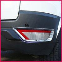 pegatinas ford ecosport al por mayor-Un pequeño cambio ABS luces antiniebla traseras luz antiniebla luz antiniebla cromo etiqueta engomada de la cubierta para Ford Ecosport 2012 -2017 accesorios de coche